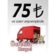 100 TL ve Üzeri Alış Verişlerde Kargo Ücretsiz