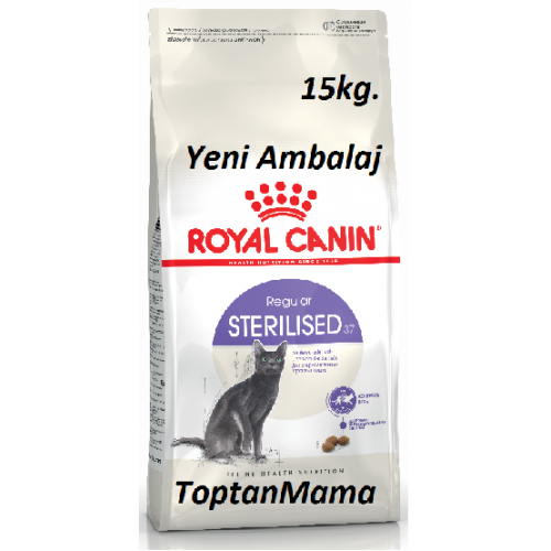 royal canin sterilised 37 k s r kedi mamasi 15kg exxtra nd r m. Black Bedroom Furniture Sets. Home Design Ideas
