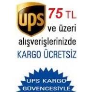 75 TL ve Üzeri Alış Verişlerde Kargo Ücretsiz